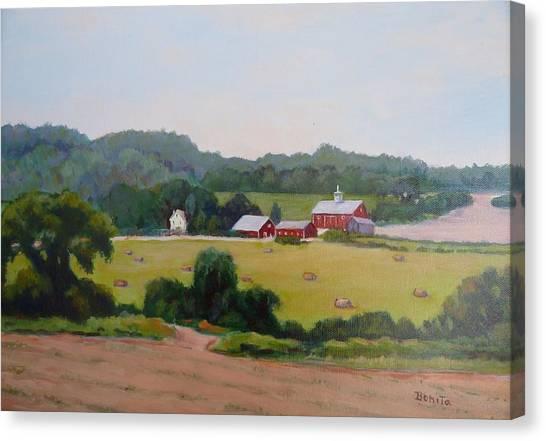 Upper Bucks County Farm Canvas Print