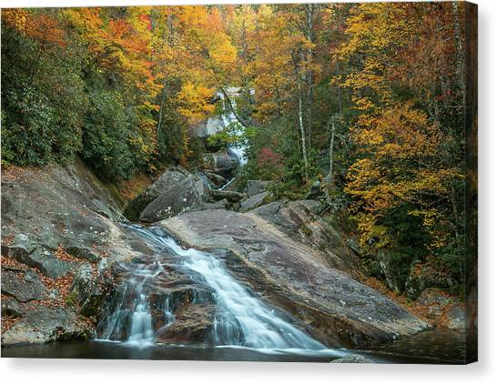 Upper Creek Autumn Paradise Canvas Print