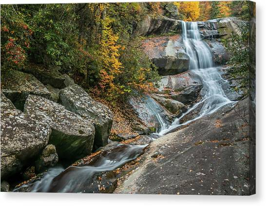 Upper Creek Falls Canvas Print