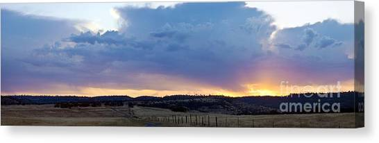 Upper Park Sunrise Canvas Print by Richard Verkuyl