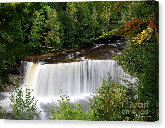 Upper Tahquamenon Falls Canvas Print