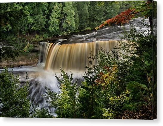 Upper Tahquamenon Falls Canvas Print