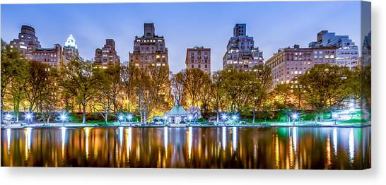Big East Canvas Print - Upper East Side Reflections by Az Jackson