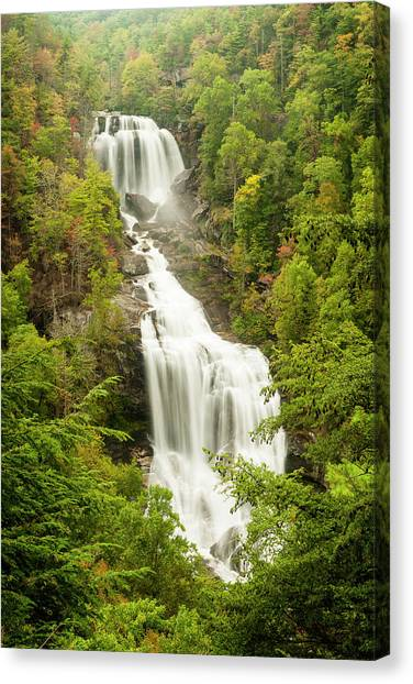Upper Whitewater Falls Canvas Print