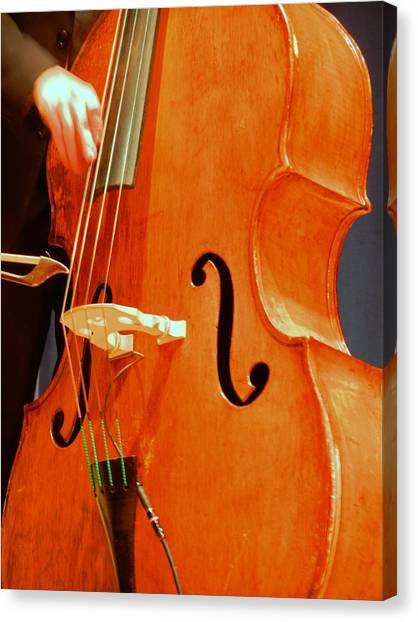 Upright Bass 3 Canvas Print