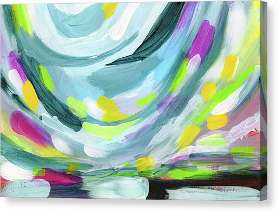 Bold Canvas Print - Uprise- Art By Linda Woods by Linda Woods
