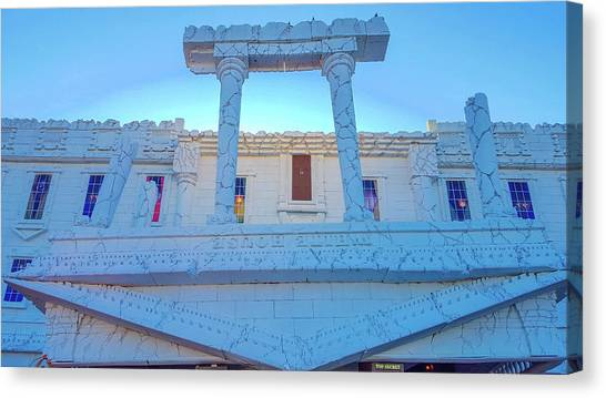 Whitehouse Canvas Print - Upside Down White House by Art Spectrum