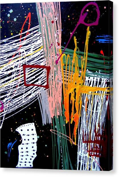 Uptown Downtown Canvas Print