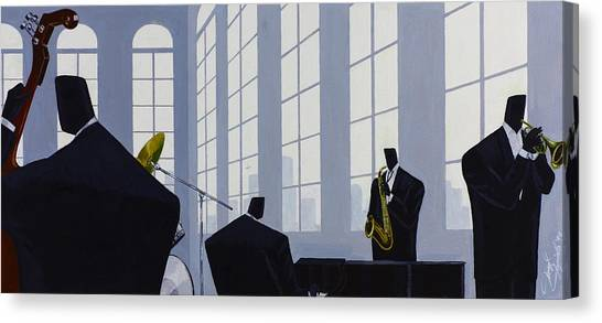 Uptown Hall Recital Canvas Print