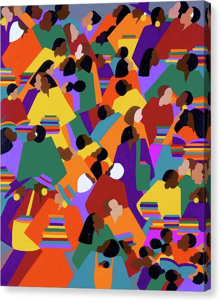 Canvas Print - Uptown by Synthia SAINT JAMES