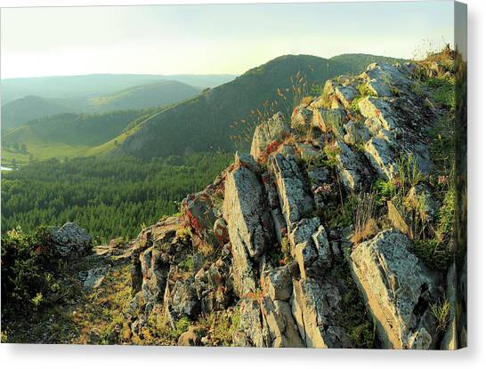 Ural Mountains Canvas Print - Ural Mountains by Andrey Suvorov