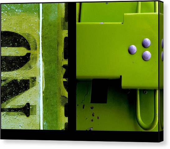 Urban Abstracts Seeing Double 40 Canvas Print