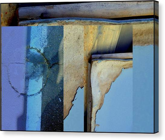 Urban Abstracts Seeing Double 62 Canvas Print