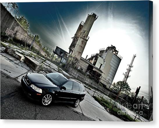 Urban Background Canvas Print