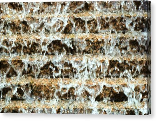 Urban Cascade Canvas Print by John Gusky