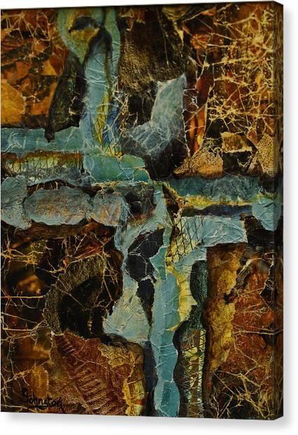 Canvas Print - Urban Chaos by Cindy Johnston