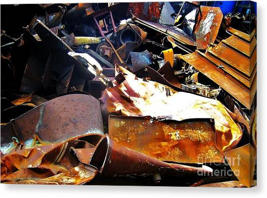 Urban Deconstruction Canvas Print by Reb Frost
