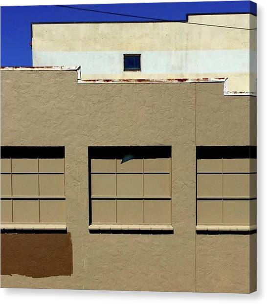 Minimalism Canvas Print - Urban Geometry. #geometric by Ginger Oppenheimer