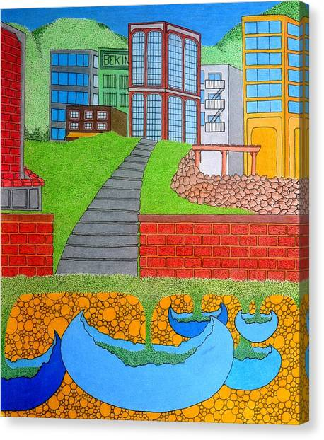 Urban Growth Canvas Print