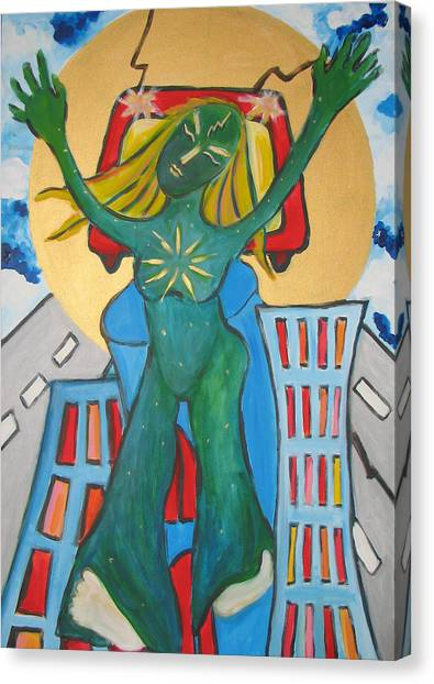 Urban Legends Ny Canvas Print by Krisztina Asztalos