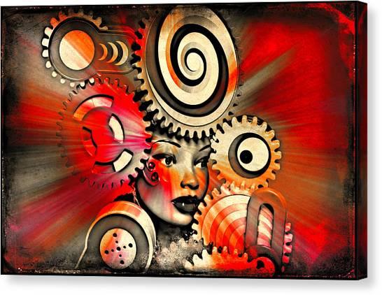 Urban Medusa Canvas Print
