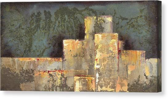 Primary Canvas Print - Urban Renewal II by Shadia Derbyshire