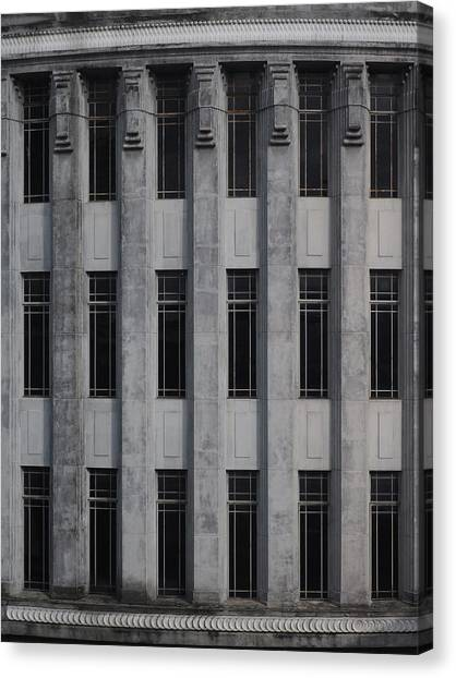 Urban Structure Canvas Print