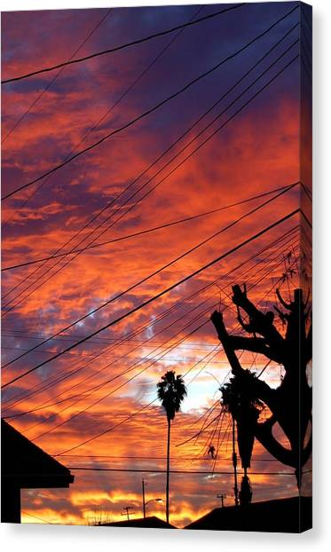 Canvas Print - Urban Sunrise by Shannon McMannus