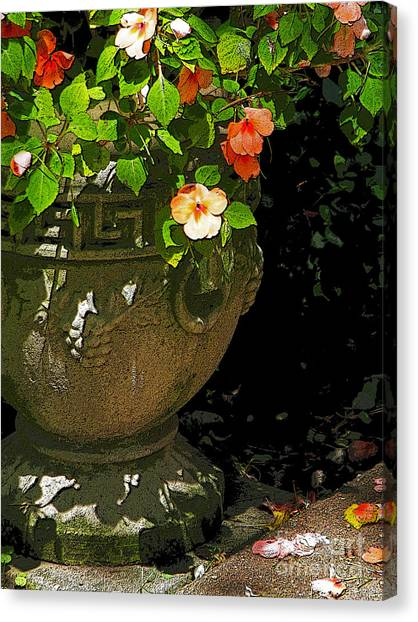 Urn Of Impatience Canvas Print