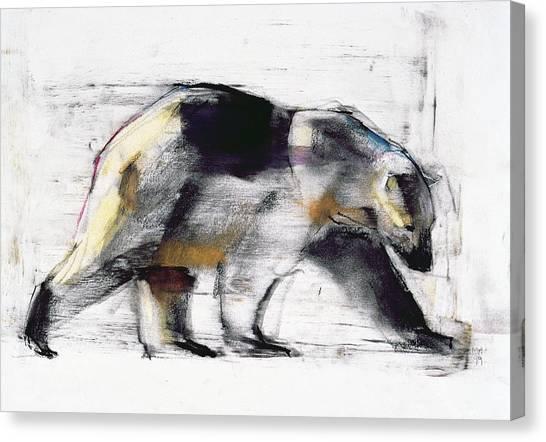 Bear Claws Canvas Print - Ursus Maritimus by Mark Adlington