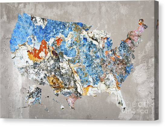 world map canvas print us map blue by world map