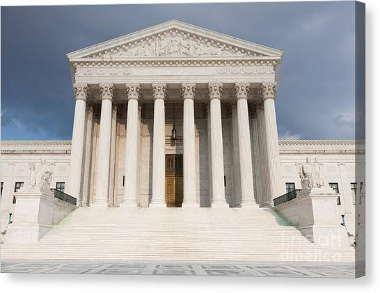 Us Supreme Court Building V Canvas Print