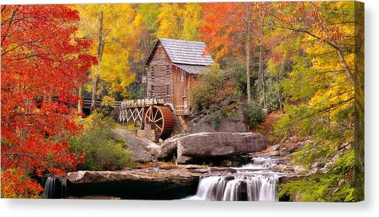 West Virginia Canvas Print - Usa, West Virginia, Glade Creek Grist by Panoramic Images