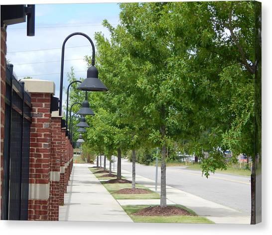 University Of South Carolina Canvas Print - Usc Stadium Walk by Terry Cobb