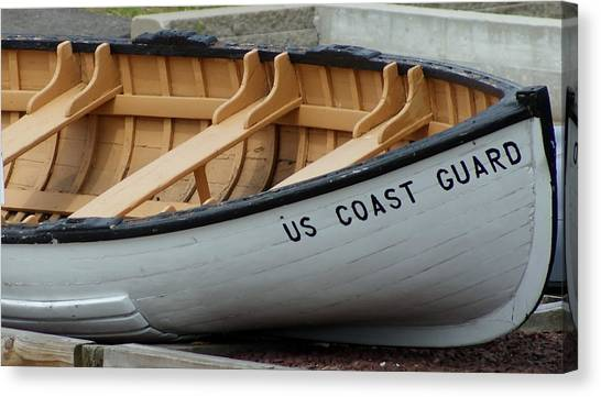 Uscg Canvas Print by Lois Lepisto