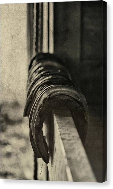 Used Steel Canvas Print by JAMART Photography