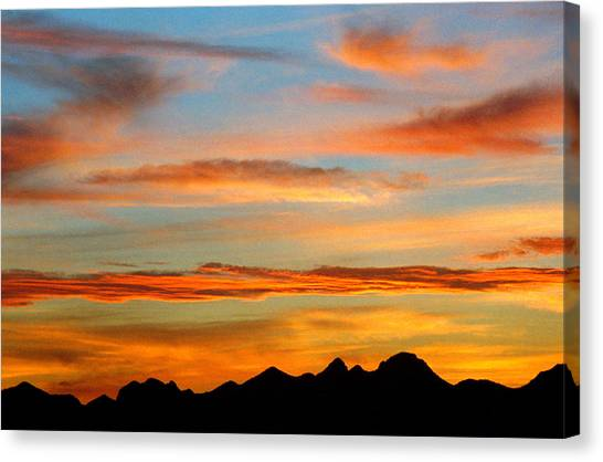 Usery Sunset II Canvas Print