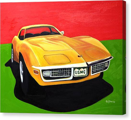 Usmc Stingray Canvas Print