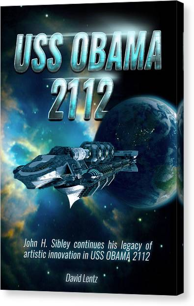 Uss Obama 2112 Canvas Print by John Sibley