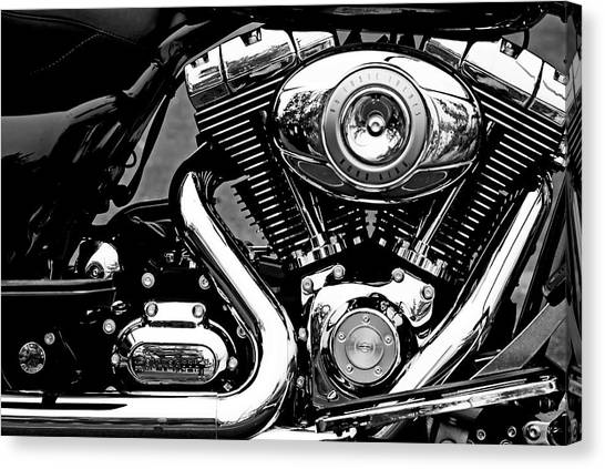 V Twin Canvas Print