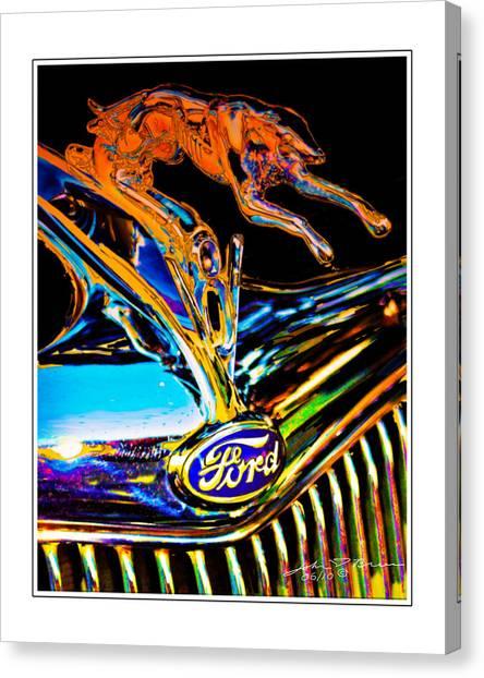 V8 Canvas Print by John Breen
