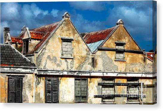 Vacancy By Curacao  Canvas Print by Steven Digman