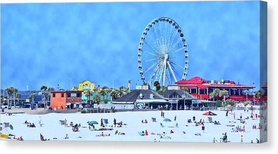 Vacation Canvas Print