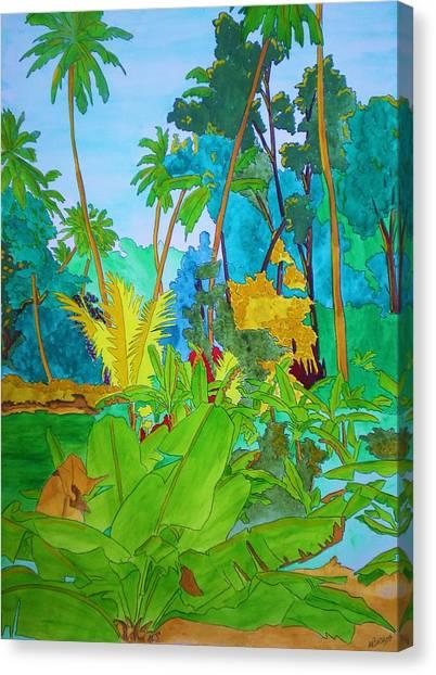 Vallee De Mai Canvas Print by Michaela Bautz