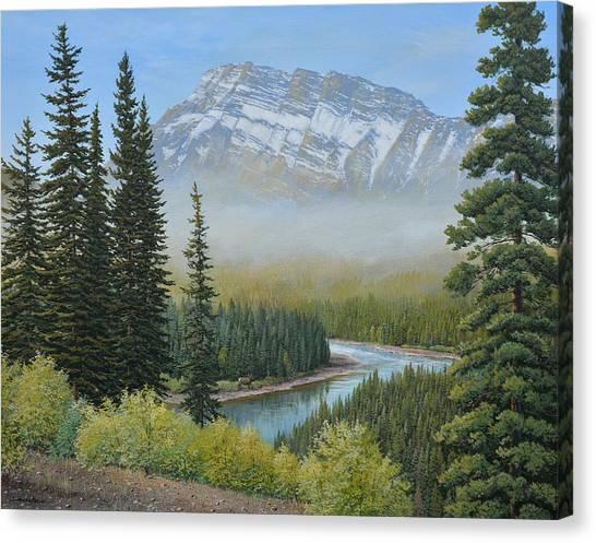 Valley Floor Canvas Print