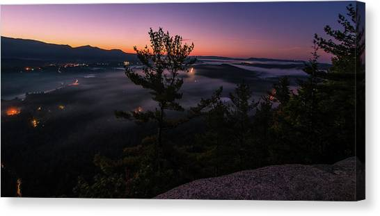 Valley Fog Canvas Print