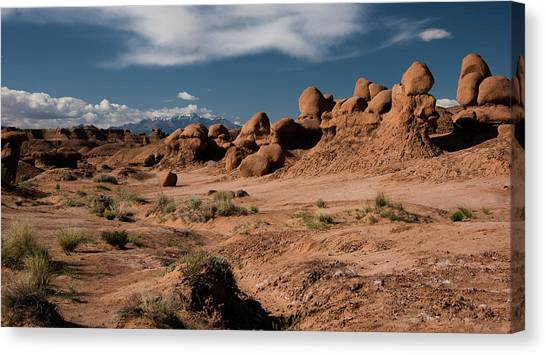 Valley Of The Goblins Canvas Print