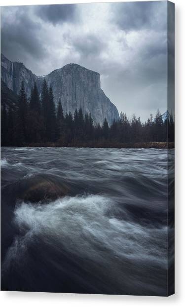Valley View Canvas Print by Gray Mitchell