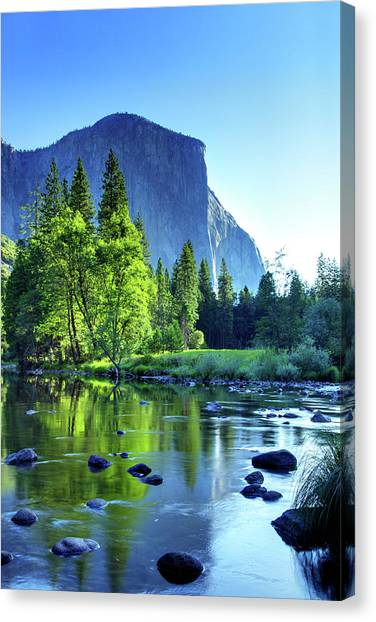 Valley View Morning Canvas Print