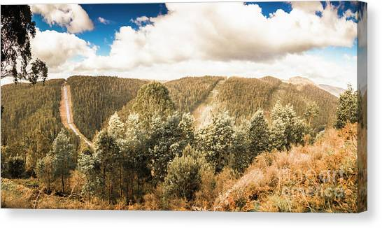Rural Canvas Print - Valley Wonder by Jorgo Photography - Wall Art Gallery